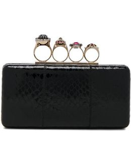 Jewelry Ring Box Clutch Bag