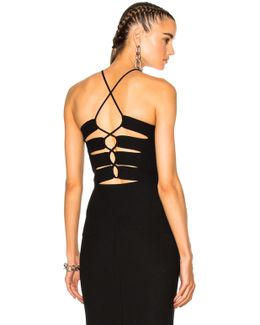 Back Slit Lacing Top
