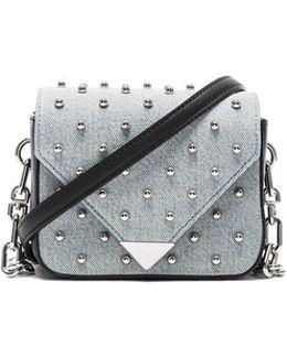 Prism Envelope Chain Studded Bag