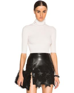 Tai Fitted Chenille Turtleneck