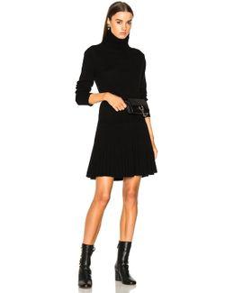 Iconic Cashmere Turtleneck Sweater Dress