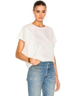 Cotton Rib Jersey Seamed T-shirt