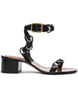 Leather Miller Sandals