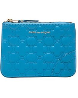 Clover Embossed Small Pouch