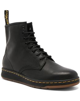 Newton 8 Eye Leather Boots