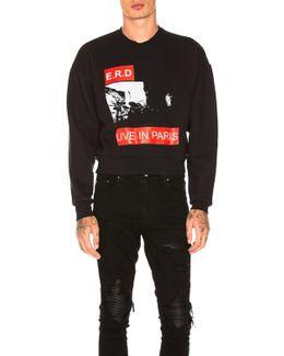 Live In Paris Sweatshirt