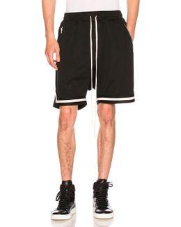 Mesh Drop Crotch Short