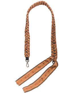 Ribbon Embellished Bag Strap