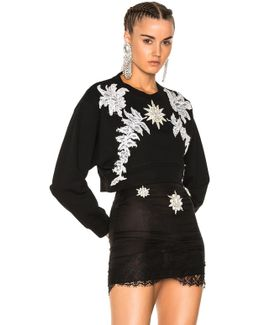 Embellished Crew Neck Sweater