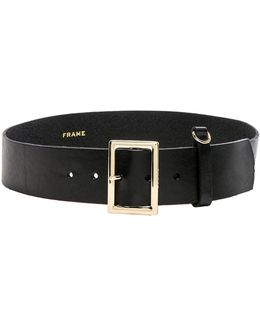 Simple D-ring Belt