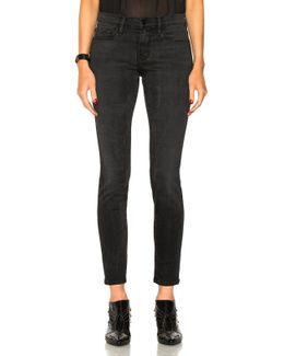 Le Skinny De Jeanne High Zip Jeans