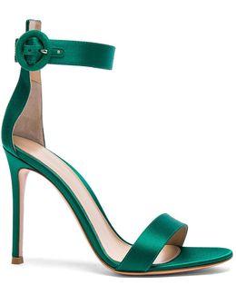 Satin Portofino Heels