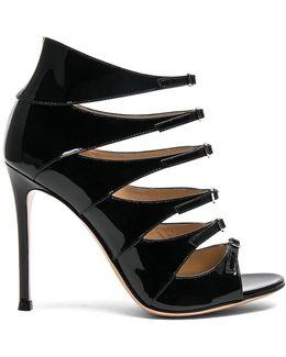 Patent Leather Vernero Multi-strap Heels