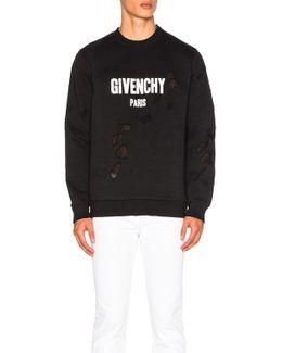 Destroyed Sweatshirt