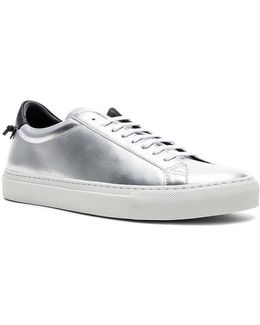Leather Urban Tie Knot Sneakers