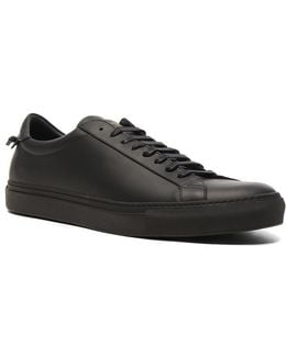 Leather Urban Street Low Top Sneakers