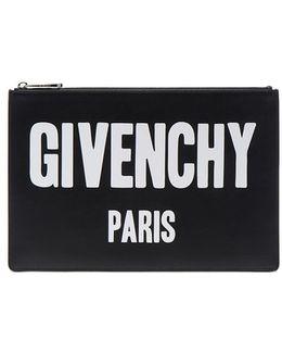 Paris Printed Medium Pouch