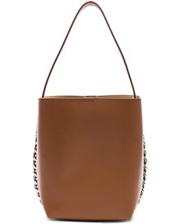 Infinity Smooth Bucket Bag In Cognac