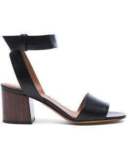 Leather Paris Heels