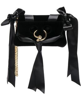 Mini Pierce Velvet Bow Bag