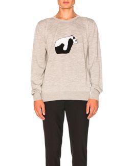Panda Crewneck Sweater