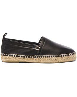 Nappa Leather Espadrilles