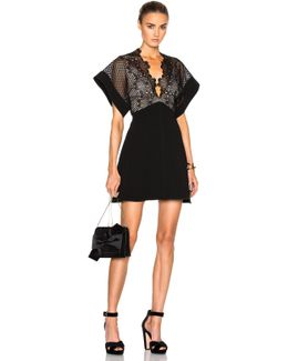 Camelia Bonded Mini Dress