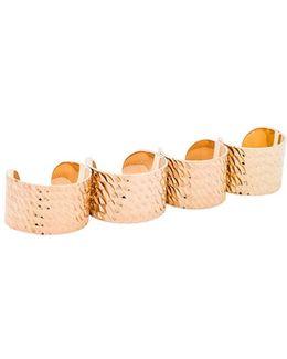 Textured Ring Set