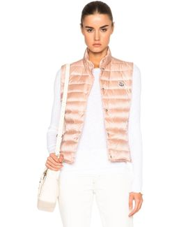 Liane Quilted Down Vest