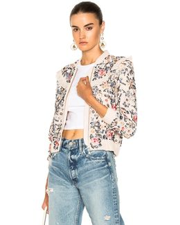 Whisper Bomber In Petal Pink