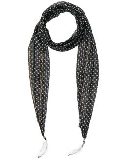 Thin Printed Scarf