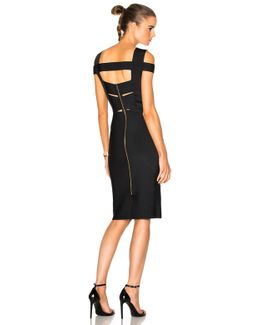 Morland Double Faced Viscose Dress