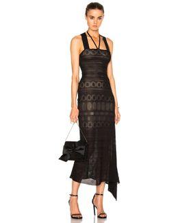 Stevan Circular Lace Knit Dress