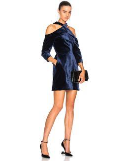 Harlington Cold Shoulder Long Sleeve Mini Dress