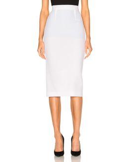 Arreton Double Wool Crepe Skirt