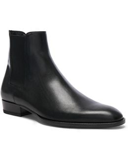 Leather Wyatt Chelsea Boots