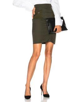 Effie Compact Cotton Skirt