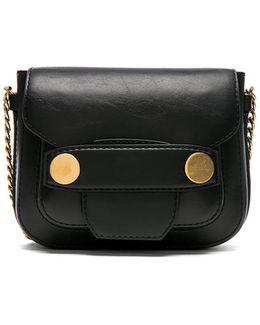 Textured Eco Alter Nappa Big Shoulder Bag