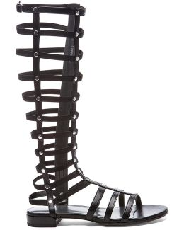 Nappa Leather Gladiator Sandals