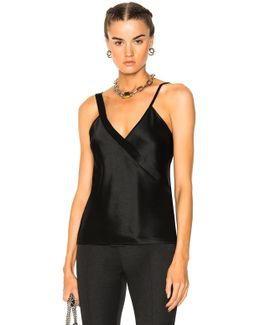 Wrap Front Tank Top