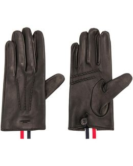 Short Unlined Leather Gloves