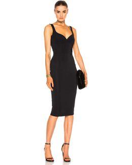 Dense Rib Cami Curve Fitted Dress