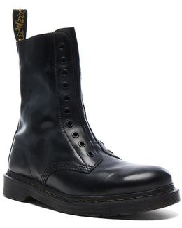 X Dr. Martens Leather Borderline Boots