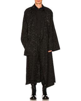 Camouflage Dolman Coat