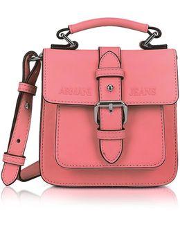 New Light Geranio Eco Leather Crossbody Bag