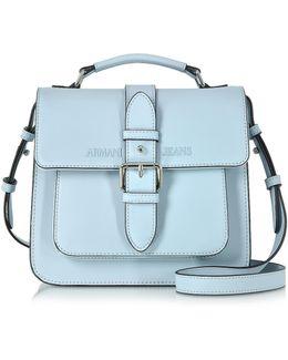 Signature Eco Leather Square Crossbody Bag