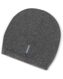 Solid Pure Cashmere Men's Beanie
