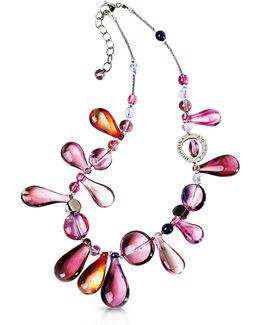 Lapilli Murano Glass Necklace