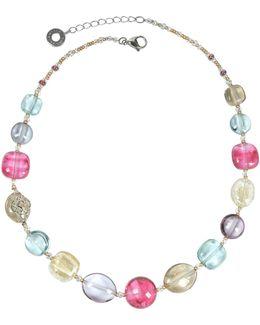 Florinda Transparent Murano Glass Beads Necklace