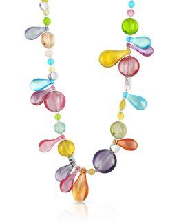 Lapilli - Long Murano Glass Necklace